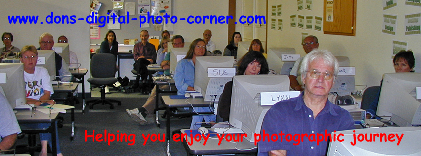 South Bay Adult School Classes - Don's Digital Photo Corner